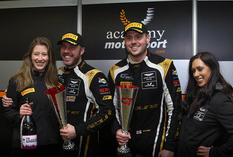 British GT Championship - Rockingham 29-04-18