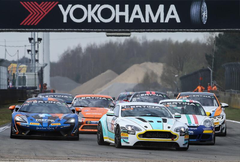 GT4 European Series - Zolder 08-04-18